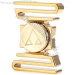 Customized Curved ADHD Brass Hand Fidget Spinner
