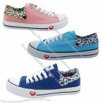 Customized Fashionable Women's Canvas Shoes