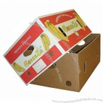 Customized Fruit Corrugated Carton Box