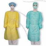 Customized Isolation Gowns with Elastic Cuffs