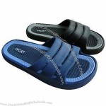 Customized Men's Cheap Indoor Hotel Slippers
