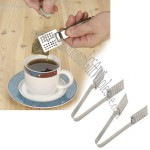 Customized Stainless Steel Tea Bag Squeezer