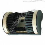 Customized Wood and Steel Boot Scrubber