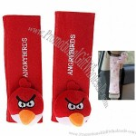 Cute 20cm Classy Polyester Car Seat Belt Cover Shoulder Pads