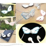 Cute Angel Wing Wrap Cable Manager Wire Tidy Earphone Winder Organizer Holder