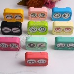 Cute Face Contact Lens Case
