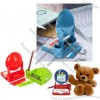 Cute Taximeter Shaped Memo Paper Clip Holder with Notepad and Photo Frame