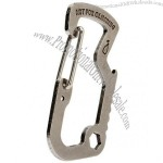 D-type Bottle Opener Carabiner
