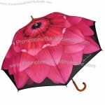 Dahlia Pink Flower Umbrella