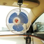 "DC12V 6"" Mini Car fan with CE and RoHS"