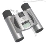 DCF Binoculars with Digital Thermometer
