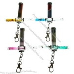 Decal Liquid Motion Magic Kaleidoscope Tube with Keychain