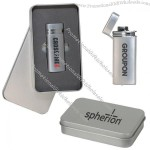 Deluxe Metal Lighter Gift Set