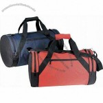 "Deluxe Polyester Roll Bag w/ Diagonal Handle 18""x10"""