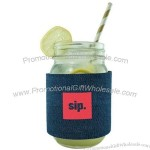 Denim Jar Sleeve