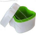 Dental Orthodontic Box, Mouthguard Denture Storage Container, Retainer Tray