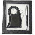 Desk Clock, Ball Pen Gift Set