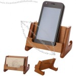 Desktop Wooden Cell Phone Holder