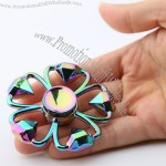 Diamond Shape Flower Colorful Hand Fidget Spinner