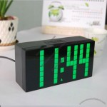 Digital Alarm Clock with Temperature Weather Station Led Clock