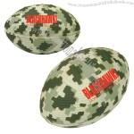 Digital Camouflage Football Stress Ball