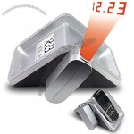 Digital Projection Clock With Mobile Holder