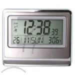 Digital Solar LCD Clock