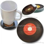 Disc Tempered Glass Coaster