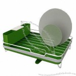 Dish Rack with ABS Holder