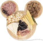 Disney Classic Mickey Mouse Cheese Board with Cheese Tools