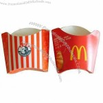 Disposable Fast Food Packing Paper Box, Customized Designs are Accepted