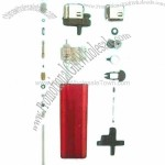 Disposable Flint Lighter Parts