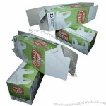 Disposable Packaging Box/Paper Box with Glossy Finishing