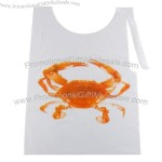 Disposable Poly Crab Bib