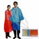 Disposable Raincoat 50x80inch