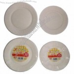Disposable White Party Paper Plate
