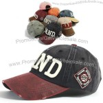 Distressed Faux Leather Bill Visor Baseball Cap Ball Caps Trucker Hat