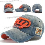 Distressed washed Ball Caps Cotton Baseball Cap Snapback Trucker Hat