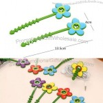 DIY Cord Holder Winder Silicone Flower Grass Cable Twister