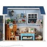 DIY House Model Toy, Creative Gift for Children
