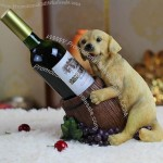 Dog and Barrel Wine Bottle Holder