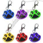 Dog Paw LED Light Keychain