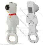 Dog Shape Music/Voice Bottle Opener