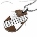 Dog Tag Pendant Necklace(1)