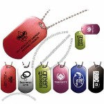 """Dog Tag with 23 1/2"""" Ball Chain"""