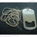 Dog Tag with Bottle Opener(1)