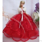 Doll Clothes, Doll Ballroom Gown/Evening Dress