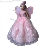 Doll Clothing, Doll Dress, Doll Fairy Dress, Wings Dress