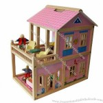 Doll Houses, Made Of Wood