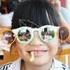 Double Clamshell Sunglasses for Kids